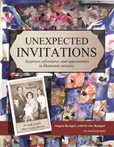 Unexpected Invitations book by Angela Rempel with Erwin Rempel